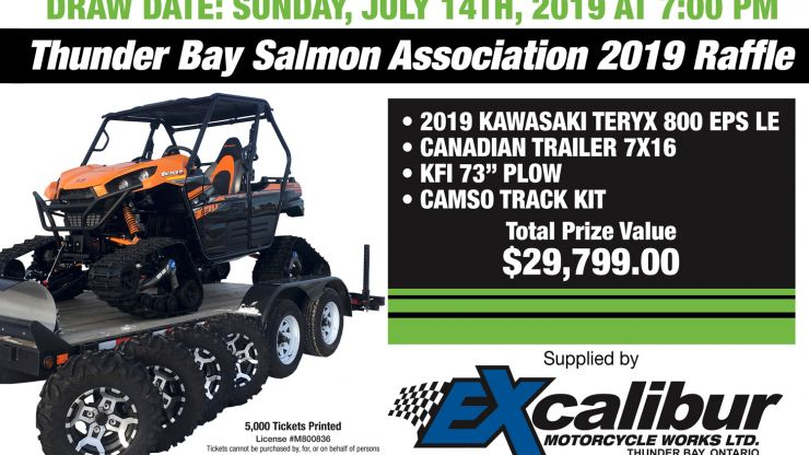 Salmon Association Raffle, 2019