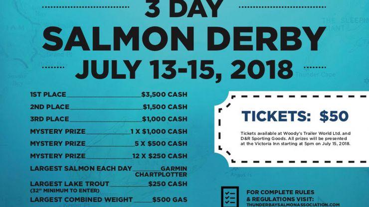 Salmon Derby, 2018!